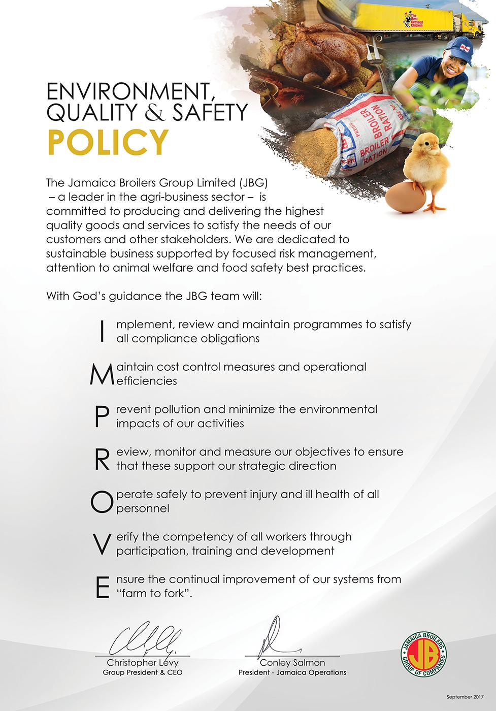 JBG EQS Policy